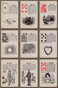 Image of Old Gypsy Fortune Cards c. 1940