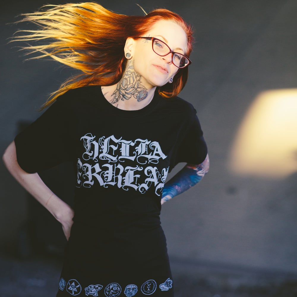 "Image of Mike Mictlan ""HELLA FRREAL"" Shirt"
