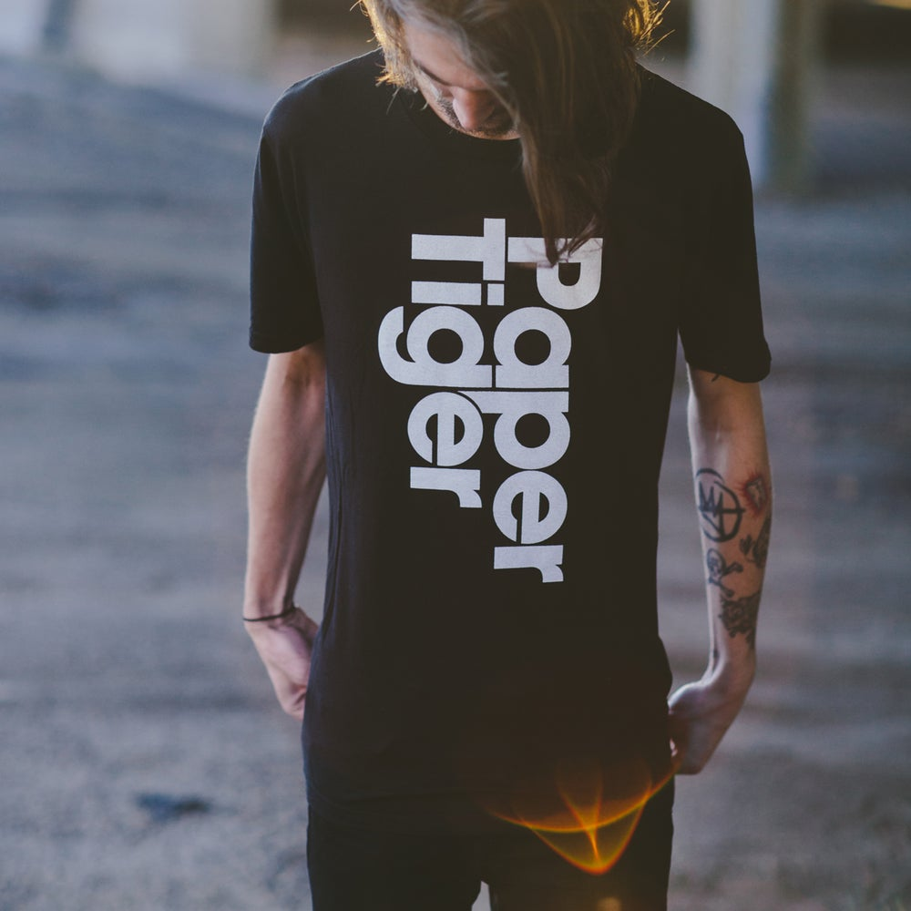 "Image of Paper Tiger ""Logo"" Shirt"