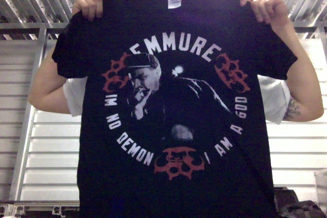 "Image of EMMURE ""I AM NO DEMON"" SHIRT SIZE MEDIUM ONLY"