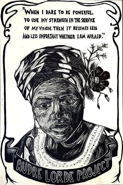 Image of Audre Lorde Project Poster