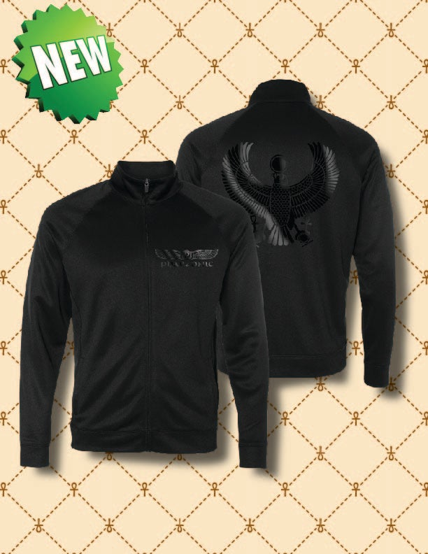 Image of MEN'S BLACK FOIL HRU  PERFORMANCE JACKET