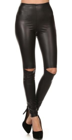 Image of Split Knee Leggings