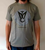Image of The Massacre Cave Logo T-Shirt Grey