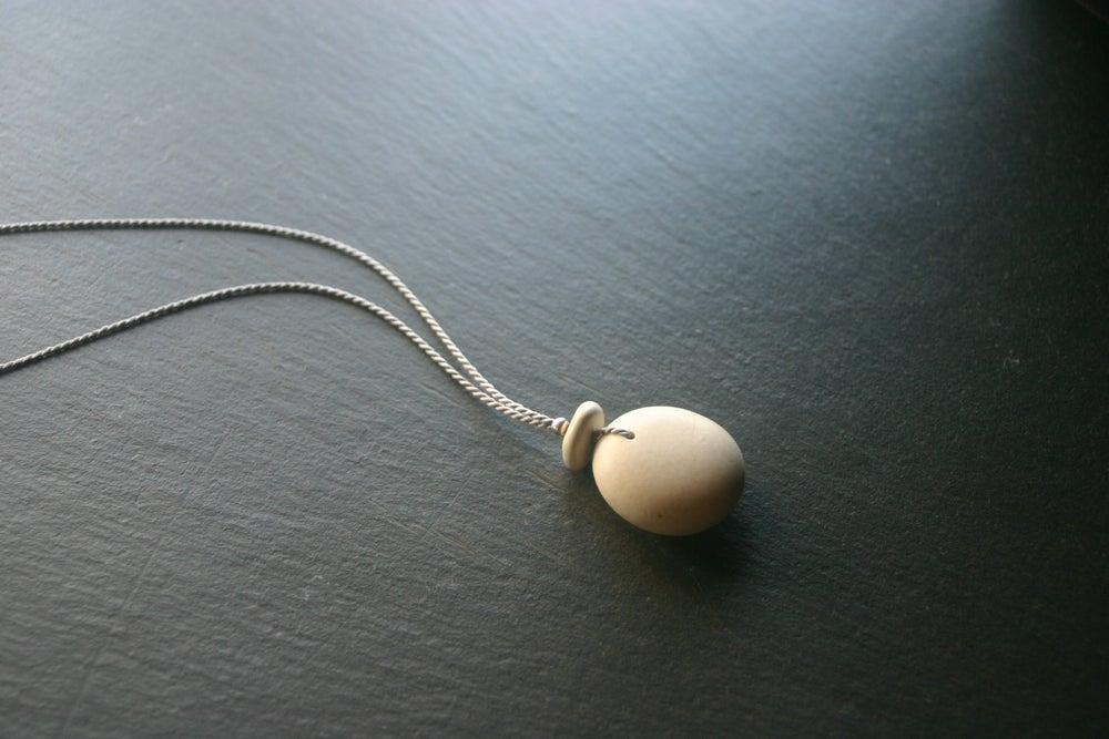 Image of Smooth pebble pendants - Adriatic