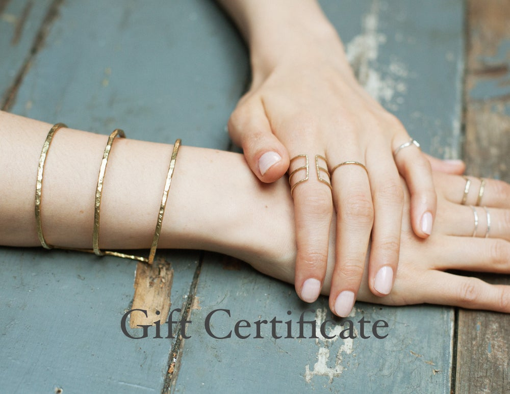 Image of Gift Certificates!