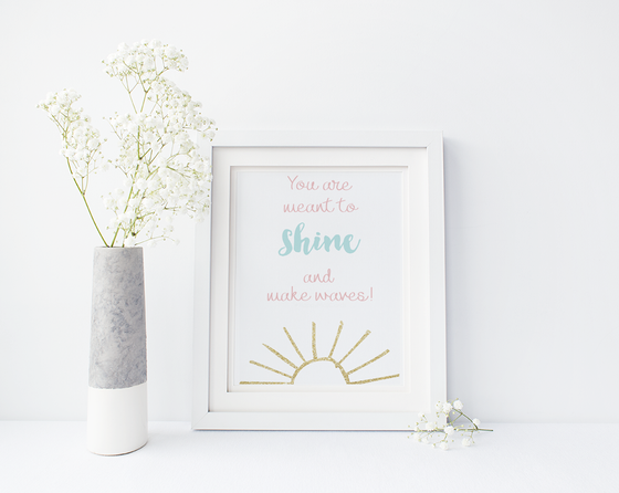 Image of 8x10 You are meant to SHINE!