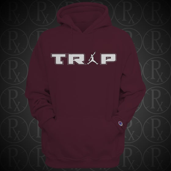 Image of Limited Edition Maroon Dumpman Trap Hoodie