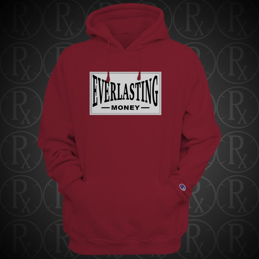 Image of Limited Edition Red Everlasting Money Hoodie