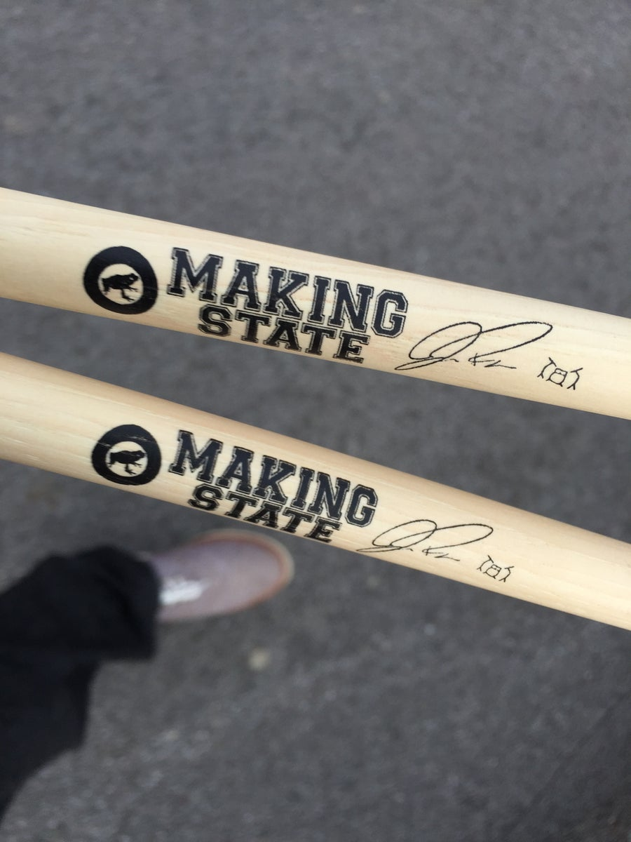Image of Making State Signature Drum Sticks!