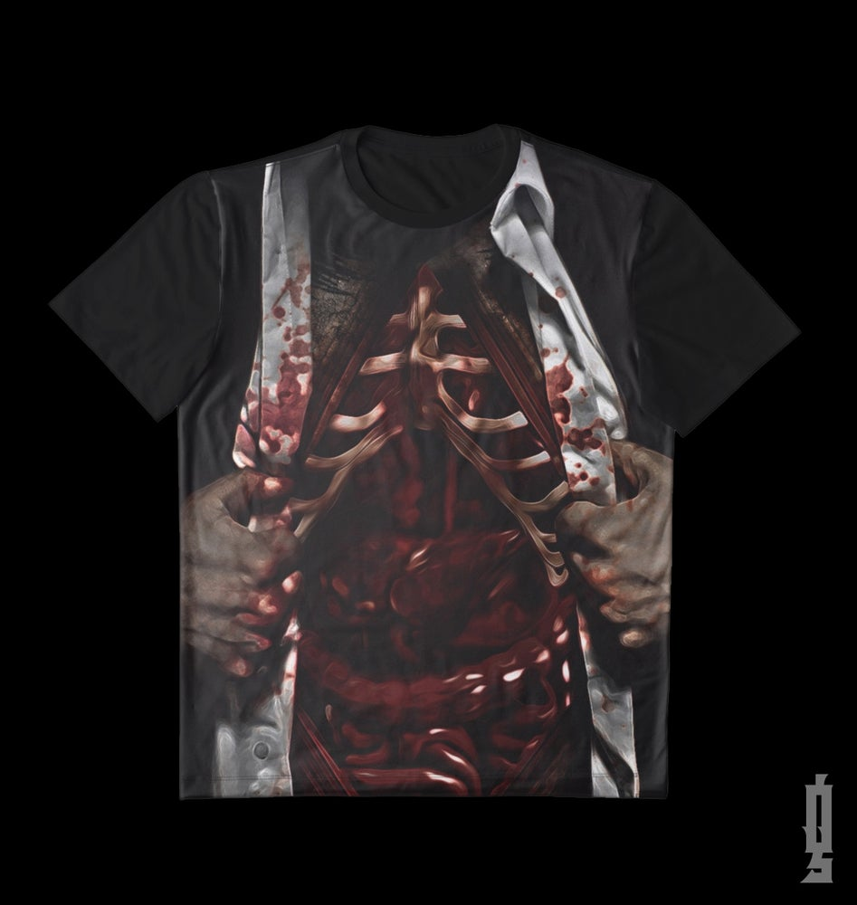 "Image of Limited Edition ""Feed The Monsters"" Black Tee Shirt"