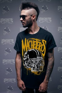 "Image of ""Machetero"" T-shirt  black"