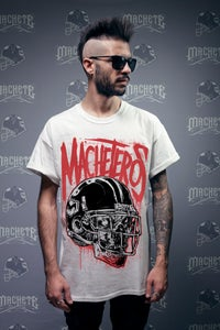"Image of ""Machetero"" T-shirt white"