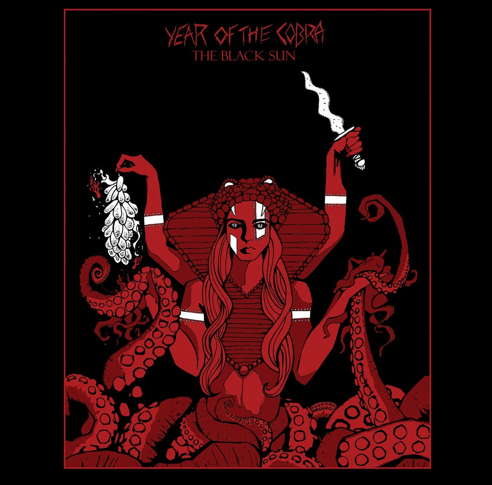 "Image of Year of the Cobra - The Black Sun EP 10"" vinyl"