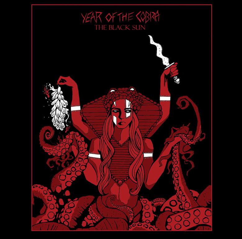 "Image of Year of the Cobra - The Black Sun EP 10"" vinyl"