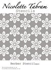 Berber Furniture Stencil for Furniture, Wall and Fabric Projects-Moroccan stencil-DIY