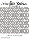 Cadiz Furniture Stencil for Furniture, Wall and Fabric Projects-Moroccan stencil-DIY