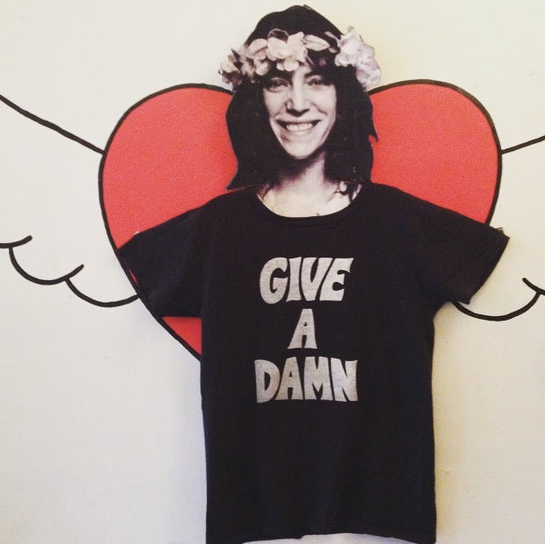 Image of Give A Damn Tshirt (black)