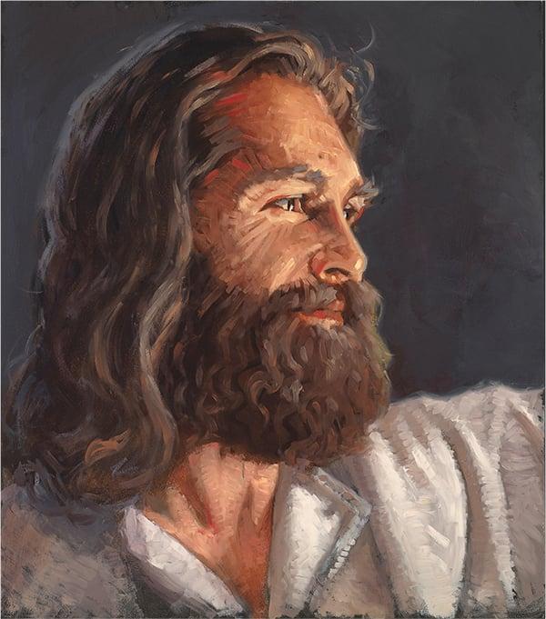 Nathan Pinnock Our Savior Jesus Christ Original Oil Painting