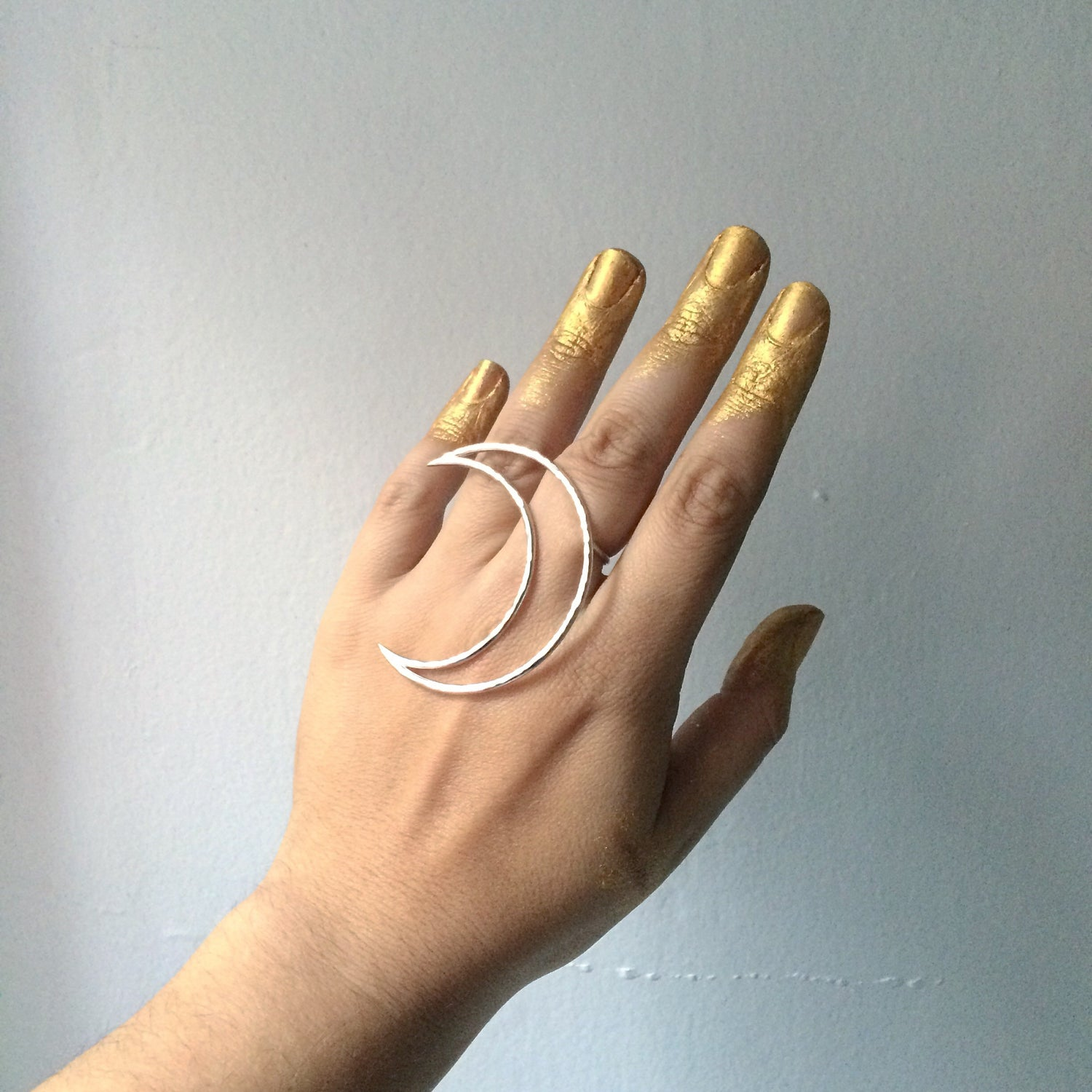 Image of Magic Moon ring made to order