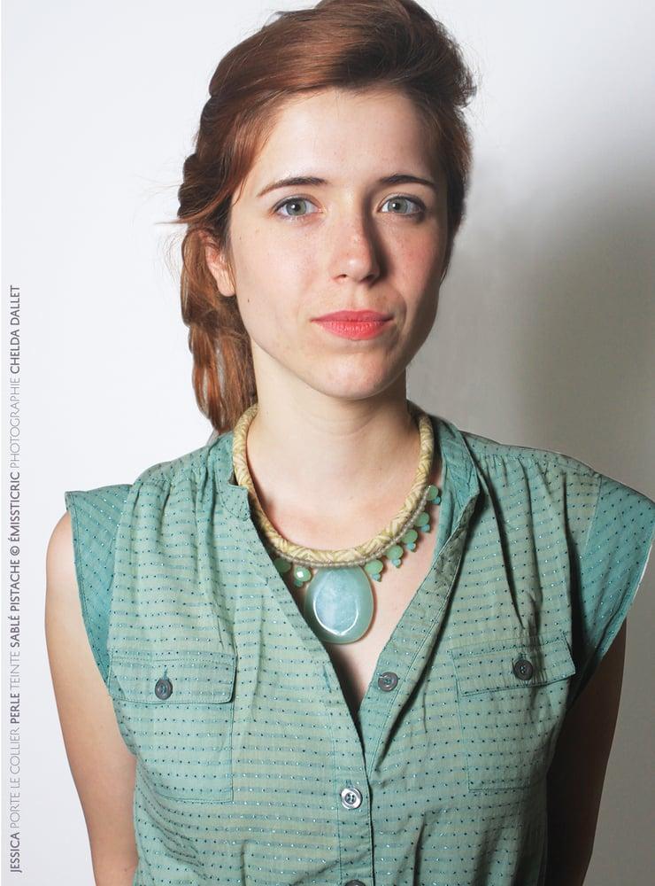 Image of Perle : Sablé Pistache