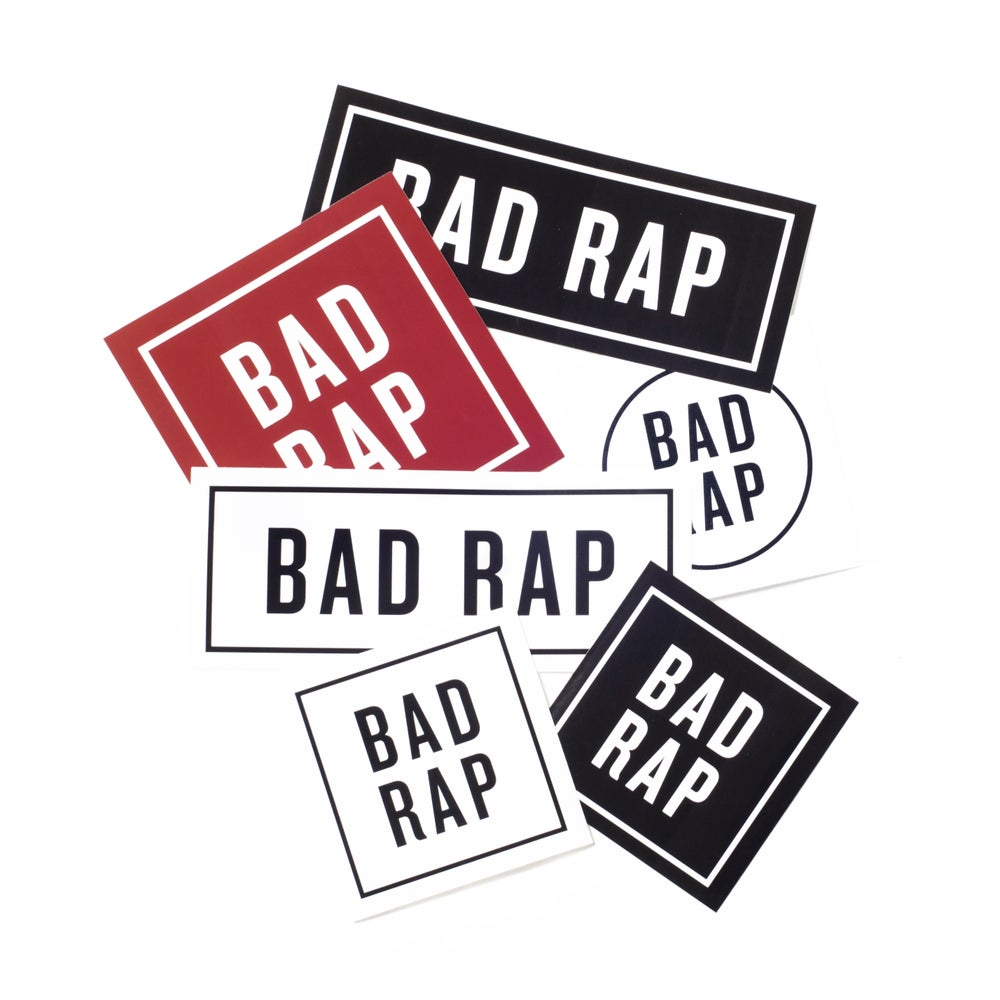 Image of Bad Rap Sticker Pack