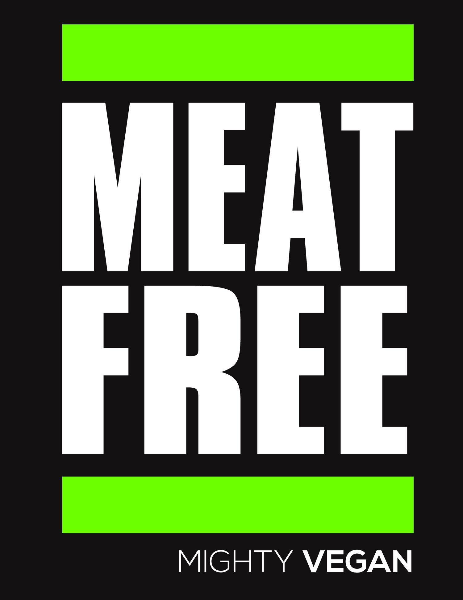 Image of MEAT FREE TRI-BLEND TEE