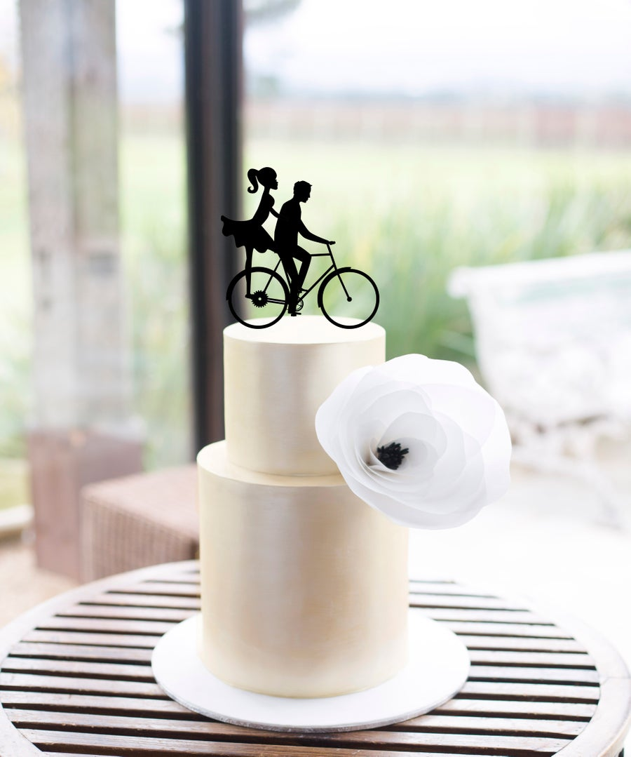 Image of Bike Riding Couple