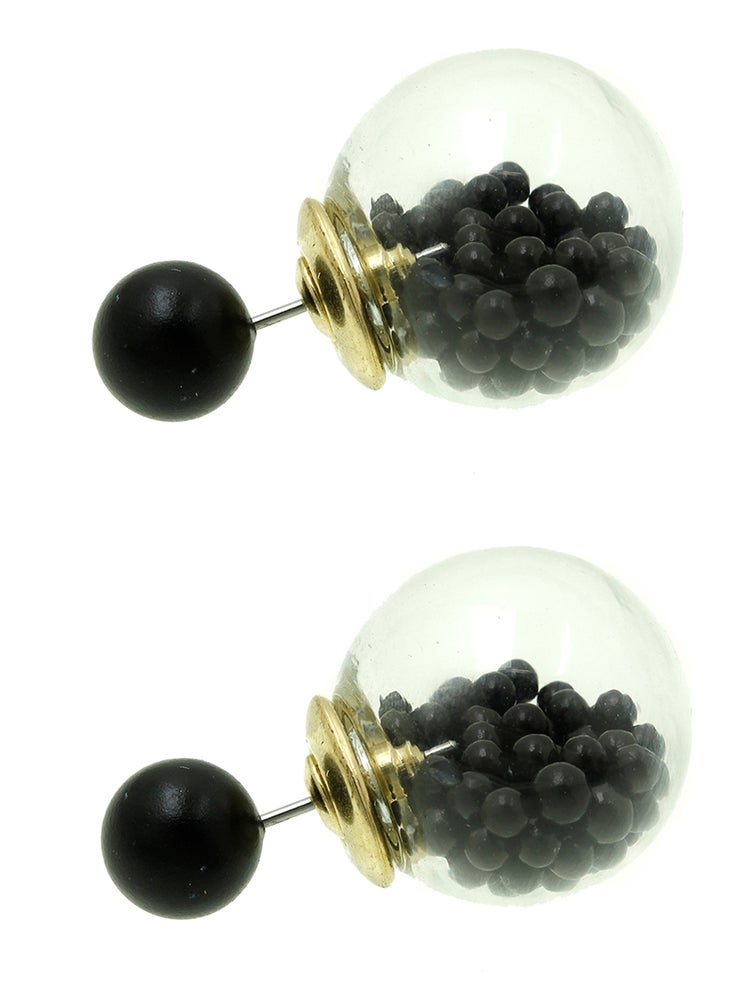 Image of Ball Globe Earrings