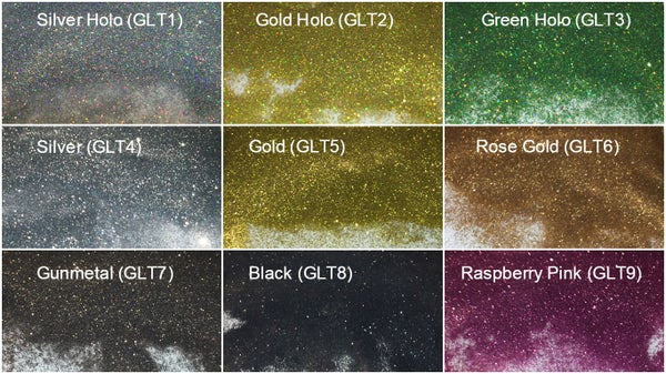 """Image of Glitter .004"""" </p> 9 Colors Available"""