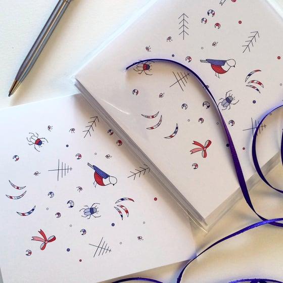Image of Pretty Christmas Things Greeting Card Set