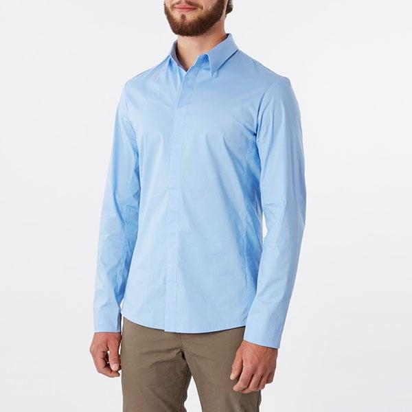 Image of chemise Adam ciel