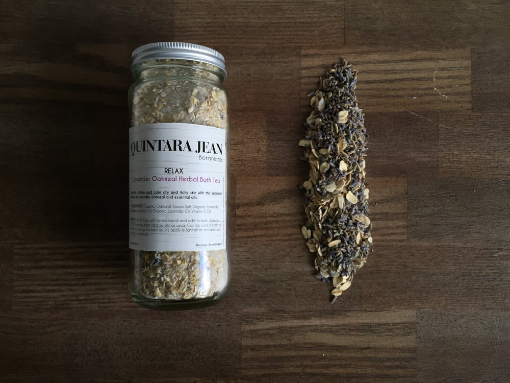 Image of RELAX: Oatmeal & Lavender Herbal Bath Tea