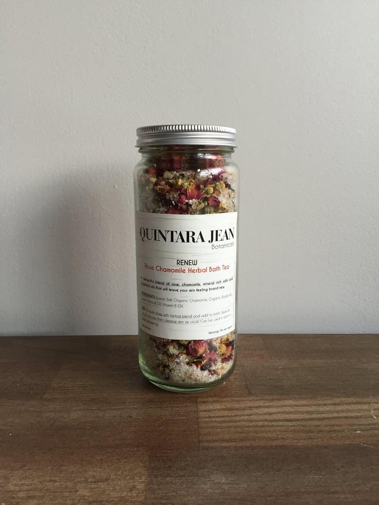 Image of RENEW: Rose Chamomile Herbal Bath Tea