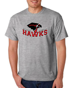 Image of Traditional Hawks Logo T-Shirt