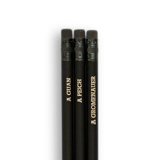 Image of Set de lápices chiquitistaníes