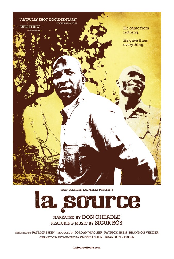 Image of La Source - 11x17 Poster by Dennis Salvatier