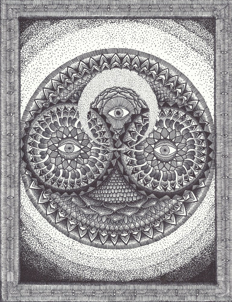 Image of Third Eye Guide Art Print