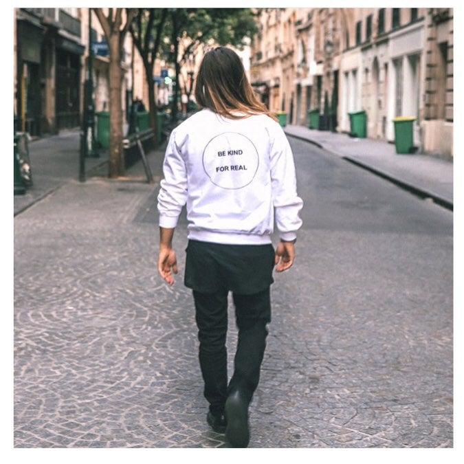 Image of BE KIND FOR REAL sweatshirt