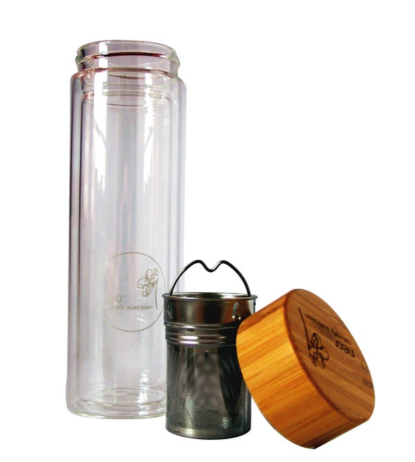 Image of Neo Tea Infusion Double Glass Bottle 450ml