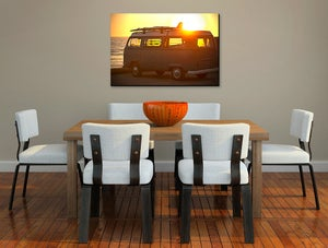 Image of BUS RAYS - (Metal or Canvas)