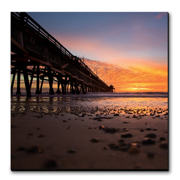 Image of PIER SIDE - (Metal or Canvas)