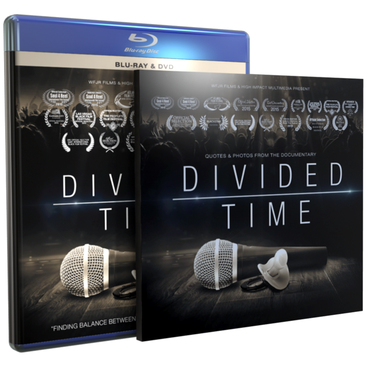 Image of Divided Time Blu-Ray/DVD/Photobook Package