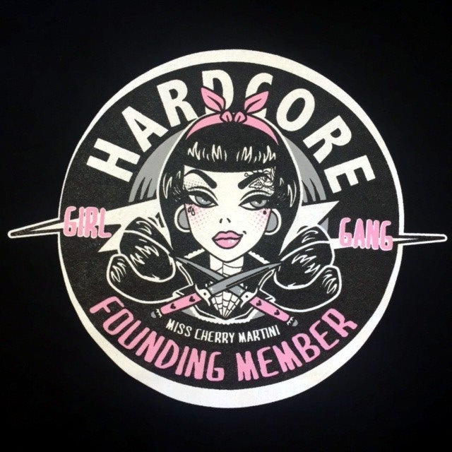 Image of Hard Core Girl Gang Ladies T-Shirt