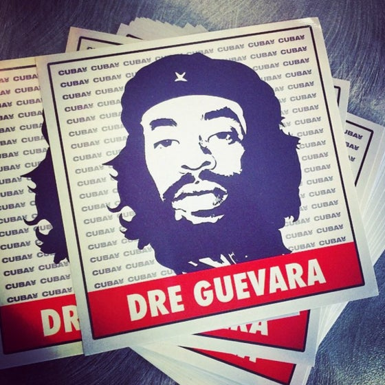 Image of Dre Guevara Sticker