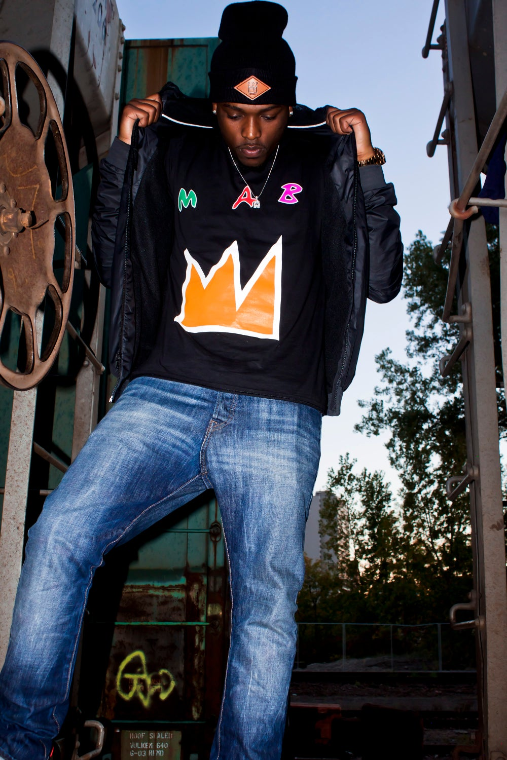 Image of CROWN OF MAB II MENS TEES