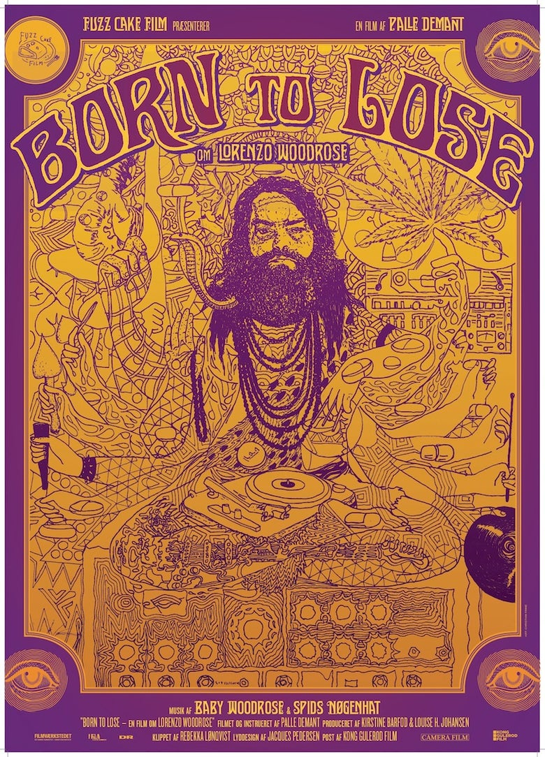 Image of BORN TO LOSE POSTER on rough thick uncoated paper (200 g/m2)