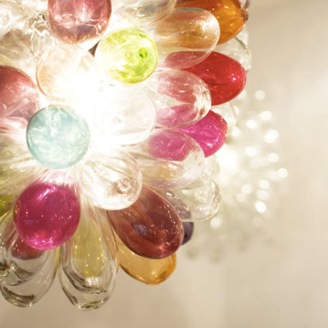 Image of Grape Glass Lamp - Tutti Frutti