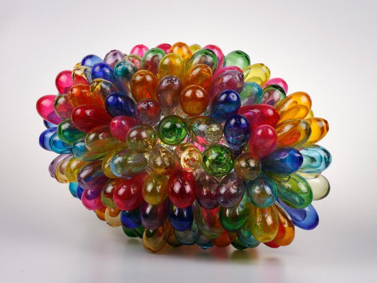 Image of Grape Glass Lamp - Tutti Frutti