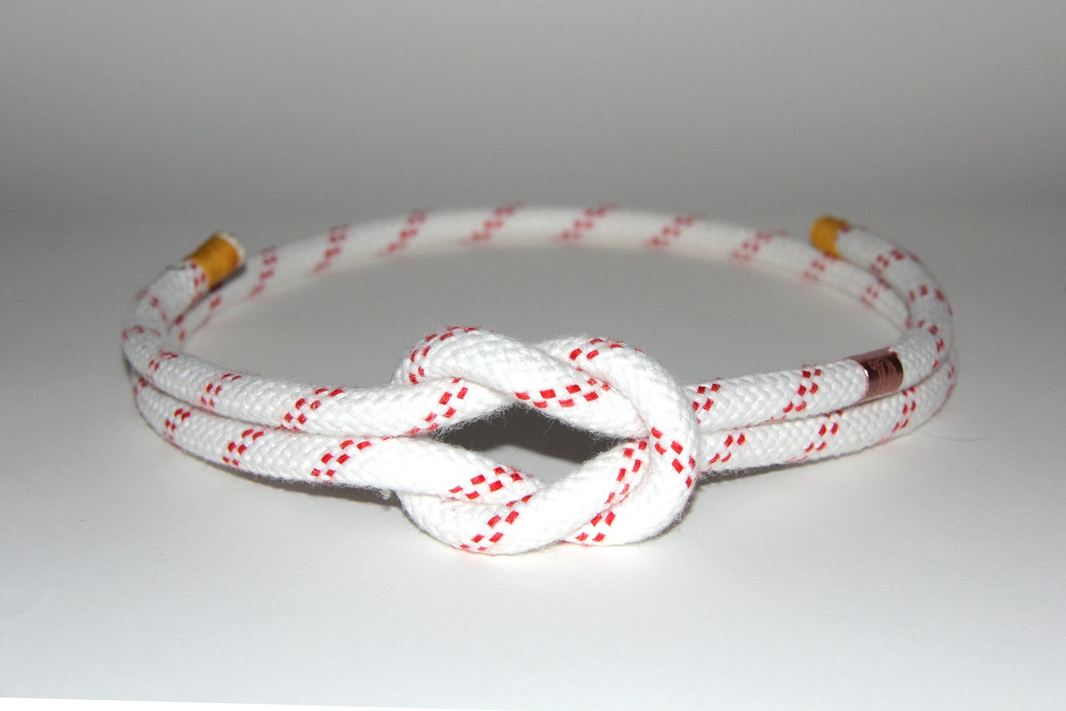 Image of CEINTURE DU MARIN BLANCHE & FILETS ROUGE LARGE